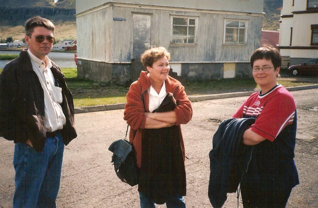 Gísli Kristjáns, Svana og Anna María