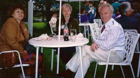 Mæja, Hebba og Siggi Björns.