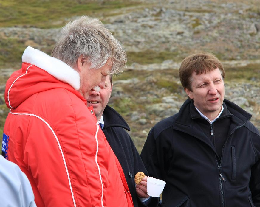 Friðrik Þór, Orri og Ingimundur