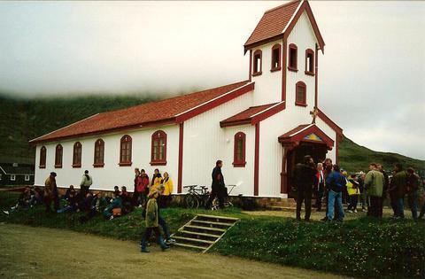 Kirkjan í Narsaq