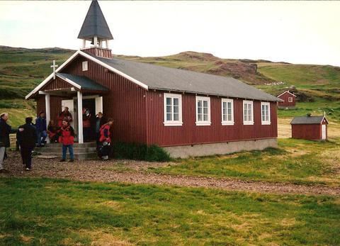 Kirkjan í Brattahlíð
