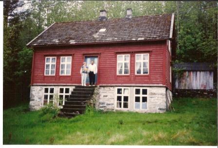 Æskustöðvar Jóhanns á Kúskerpi - Mæsa og Sven