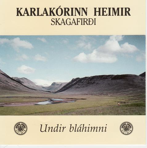 Undir bláhimni_1991_framhlið
