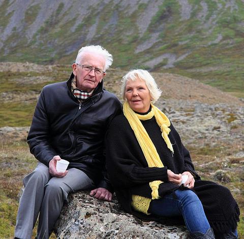 Stefán í Víðidal og Hedda